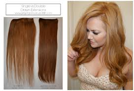 Pics Of Hair Extensions by Double Drawn Vs Single Drawn Hair Extensions Youtube