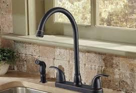 rubbed bronze faucet kitchen bronze kitchen sink faucets insurserviceonline
