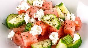 recette de cuisine d été recette salade d été pastèque et fromage bulgare coolisrael fr