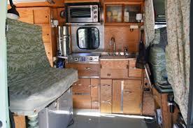 Conversion Van Interiors Creative Retro Interior In Ron Tanner U0027s Tiny 118