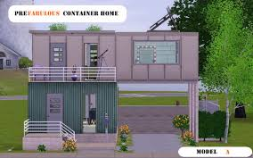 mod the sims prefabulous container home model a