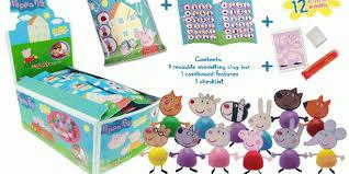 giromax celebrates ten peppa pig mini clay buddies