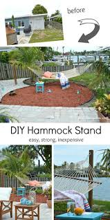 Diy Portable Hammock Stand 60 Best Hammock Stand Images On Pinterest