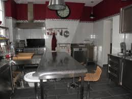 cuisine industrielle inox une cuisine professionnelle en inox chez soi lf ambiances et déco