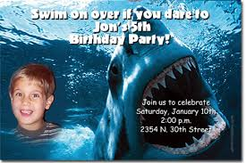shark birthday invitations candy wrappers thank you cards candy