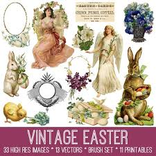 antique easter decorations 30 best vintage stock easter images free the graphics fairy