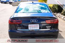 audi a6 premium pre owned 2016 audi a6 3 0t premium 4d sedan in post falls id