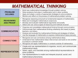 h o t d o k doing math vs thinking mathematically what u0027s the