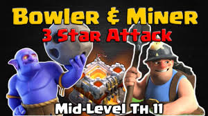 clash of clans dragon wallpaper clash of clans bowler and miner attack strategy u2013 th11 3 star