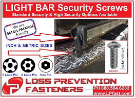led security light bar led light bar security