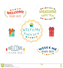 welcome baby boy baby boy arrival postcards baby shower design