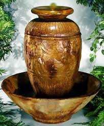 Outdoor Large Vases And Urns Outdoor Vase Water Fountains Joyous 4 Attractive Fountain Olive