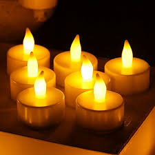 candles liander flameless candles flickering timing warm