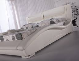 Platform Beds White Amazon Com Napoli Contemporary Platform Bed White King Kitchen