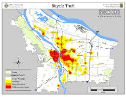 Portland Oregon Maps by Portland State Criminal Justice Policy Research Institute