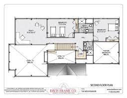 mountainside home plans davis frame company inc the mountainside timber home floor plans