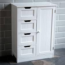 home discount bathroom 4 drawer floor standing cabinet unit