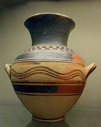 Greek Vase Painting Techniques Amphora Protogeometric Bm A1123 Pottery Of Ancient Greece