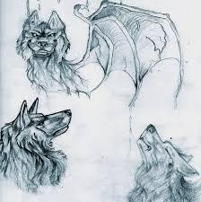 wolf sketch dump by lucky978 on deviantart