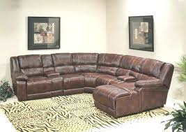 recliner leather sectional full size of 5 piece leather sectional
