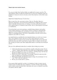 resume exles for highschool students high school resume sle exles of resumes for college