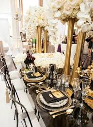 black and gold wedding ideas of black and gold wedding ideas 16