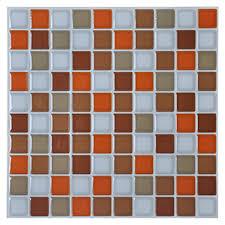 Resin Backsplash - vinyl peel and stick decorative backsplash kitchen tile color
