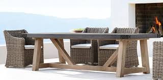 concrete patio dining table minimalist home architecture at dining collections rh hafoti org