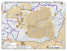 San Francisco Map Pdf by Coconino National Forest Peaks Hunt Unit