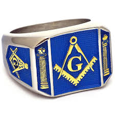 blue steel rings images Blue lodge stainless steel gold blue masonic signet ring jpg