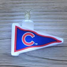 mlb chicago cubs led pennant lights battery operated