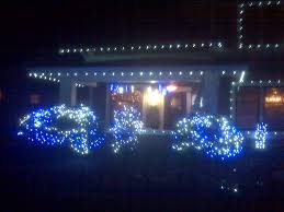 Outdoor Blue Lights Running With The Runner December 22 Light Run