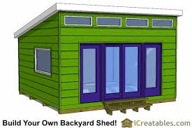Diy Garden Shed Plans by Modern Shed Plans Modern Diy Office U0026 Studio Shed Designs