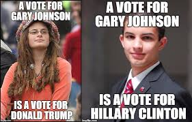 Voting Meme - how can we convince more people to vote us third party candidates