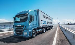 iveco stralis np the first natural gas truck for long haul