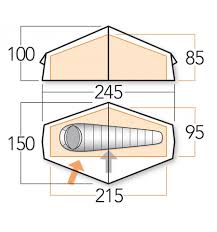 zenith floor plan vango zenith 100 tent