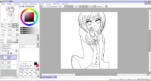 how to draw anime using paint tool sai meimei