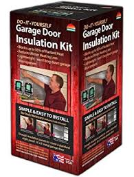 garage door insulation kit insulate up to a 18x8 ft garage door