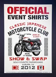 17th annual cjmc classic japanese motorcycle show and swap
