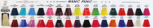 manic panic semi permanent hair color vegan fantasy colors bad boy