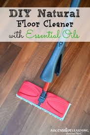 mopping laminate wood floors