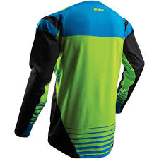 thor motocross jersey thor jersey fuse propel black lime 2018 maciag offroad