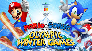mario sonic at the olympic winter vancouver 2010 all