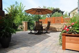 Privacy Walls For Patios by A Private Patio Paradise Villa Landscapes