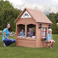 backyard discovery aspen playhouse with free chalkboard kit