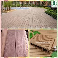 Wood Patio Flooring by Teak Wood Floor Tile Wpc Decking Floor Recycled Rubber Patio Floor