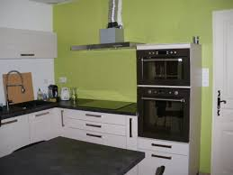 cuisine verte anis beau peinture cuisine vert anis et cuisine verte et grise ilot
