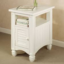 Target Side Table by Furniture Intriguing White Side Table Design With Storage Fine