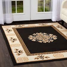 Area Rug 4 X 6 Black Area Rug 4 X 6 Carpet 14 Actual 3