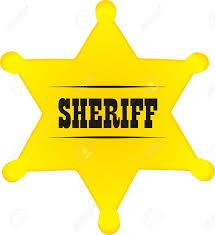 blank sheriff badge template free here